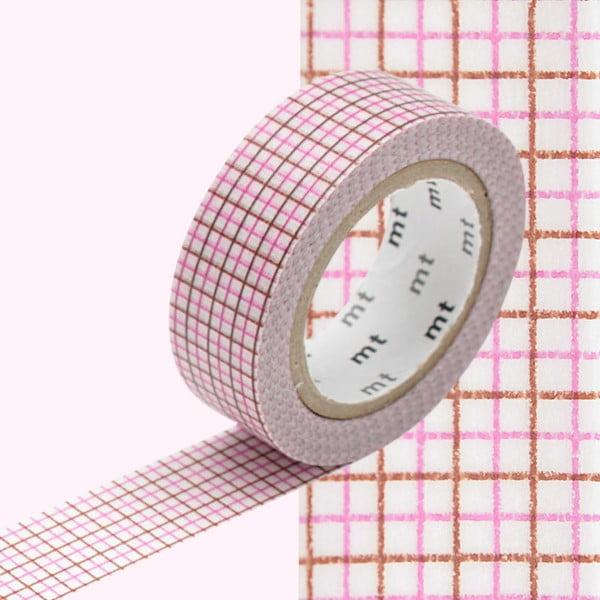 Taśma dekoracyjna washi MT Masking Tape Rosette, dł.10m