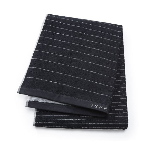 Ręcznik Esprit Grade 70x190 cm, czarny