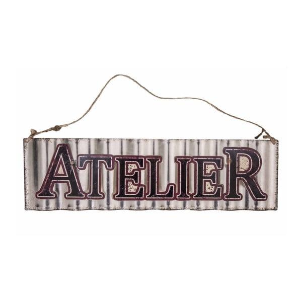 Znak dekoracyjny Atelier