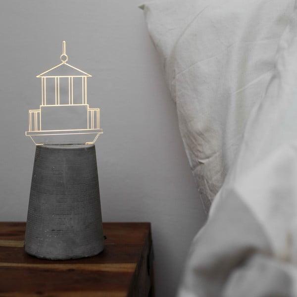 Lampka Grey Lighthouse