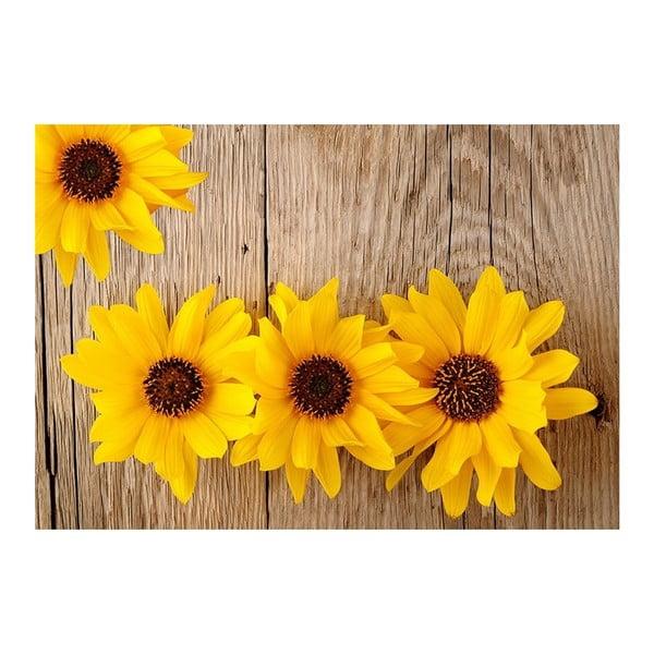 Dywan winylowy Flower, 52x75 cm