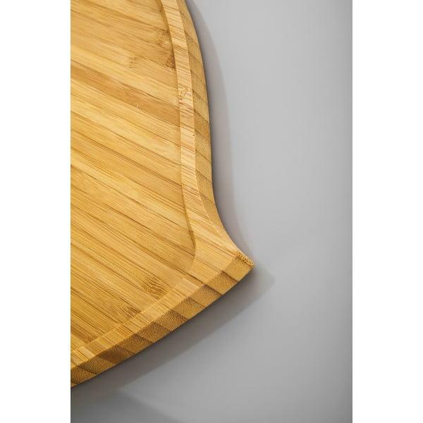 Bambusowa taca Bambum Amor, 27 cm