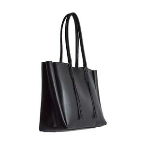 Czarna torba skórzana Richie