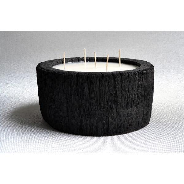 Palmowa świeczka Legno Palm o zapachu wanili i paczuli, 140 godzin palenia