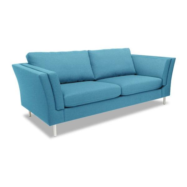 Turkusowa sofa 2-osobowa Vivonita Connor
