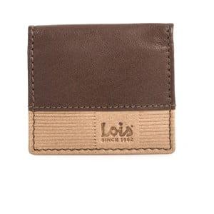 Skórzana portmonetka Lois Brown, 8x7 cm