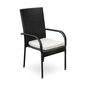 Krzesło ze sztucznego rattanu Timpana Vogue