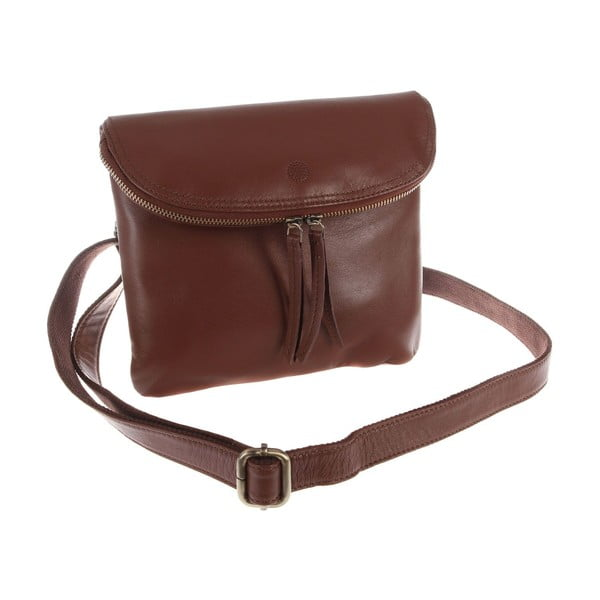 Damska torba skórzana Violet Whiskey Small Flap Cross-Body