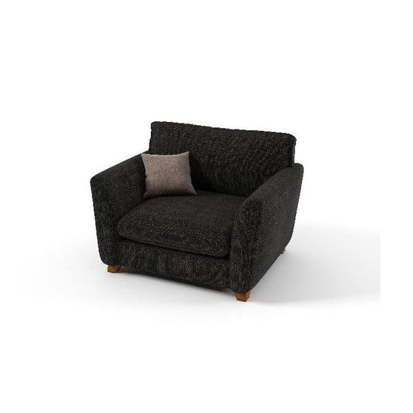 Fotel Pandora, ciemnoszary