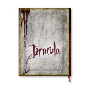 Notes w twardej oprawie Paperblanks Dracula, 18x23cm