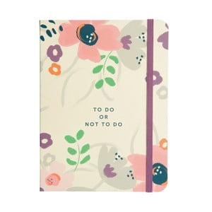 Notatnik Busy B To Do Pretty/Floral
