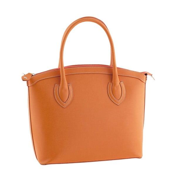 Skórzana torebka Ninety Orange
