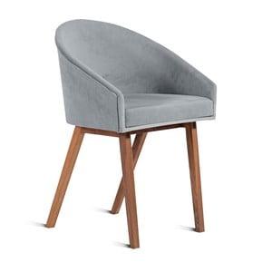 Szare krzesło Charlie Pommier U