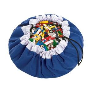 Mata do zabawy i worek na zabawki w jednym Play & Go Classic Blue