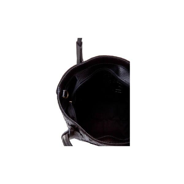Czarna   torebka skórzana Massimo Castelli Laurita