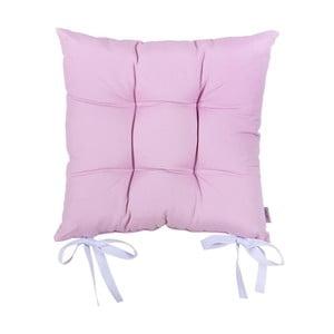 Jasnofioletowa poduszk na krzesło Apolena Simple Purple, 41x41cm