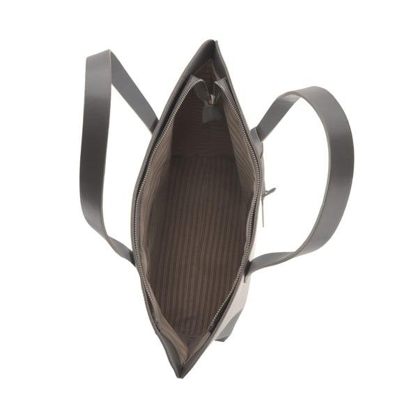Skórzana torebka Vega, szara