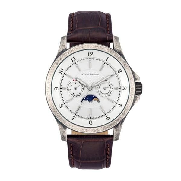 Zegarek męski Harstad Moonphase Dark Brown