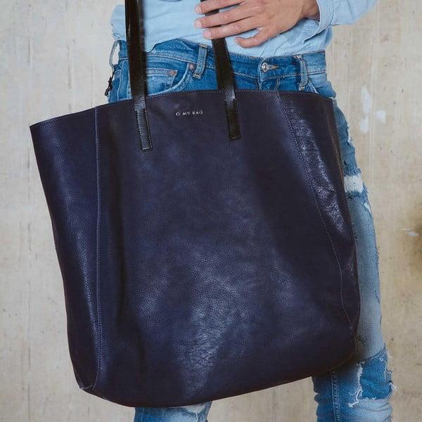 Skórzana torebka Jazzy Less Blue