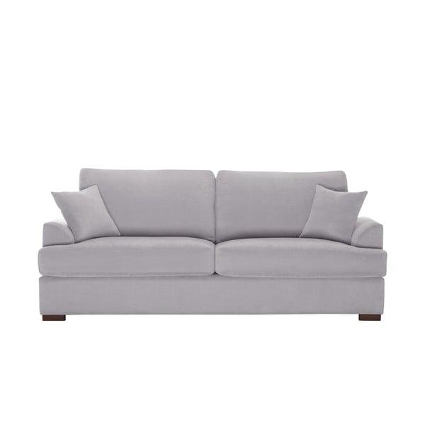 Sofa trzyosobowa Jalouse Maison Irina, jasnoszara
