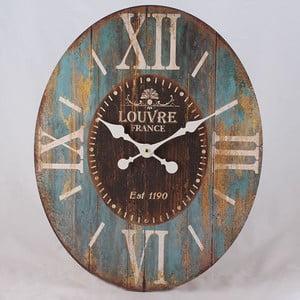 Drewniany zegar Louvre