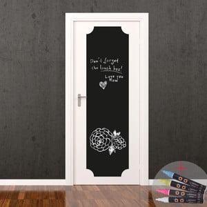 Tablica samoprzylepna z flamastrem Fanastick Giant Chalkboard