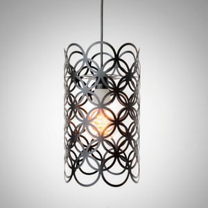Lampa sufitowa Cut Out Black