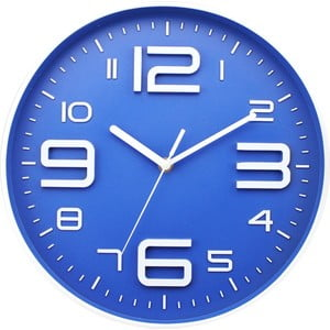 Zegar Blue Dial, 35 cm