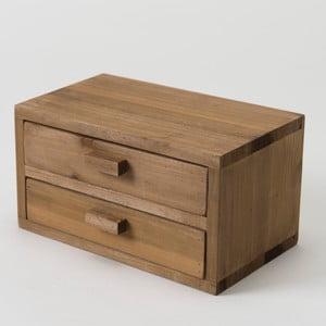 Drewniany pojemnik Vintage Box, 20x13 cm