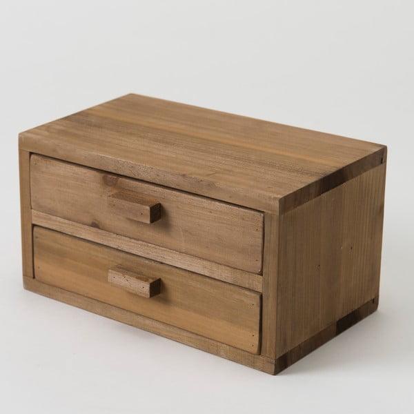 Drewniany pojemnik Compactor Vintage Box, 20x13 cm