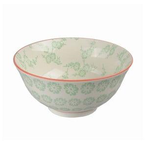 Porcelanowa miska Tayo Green, 15,5x7 cm