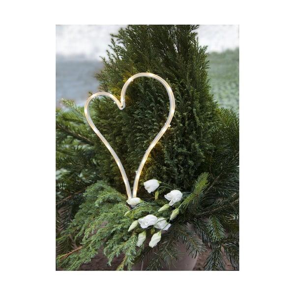 Zewnętrzna dekoracja LED w kształcie serca Best Season Decoration Heart