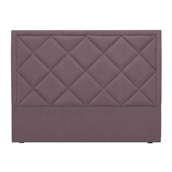 Fioletowy zagłówek łóżka Windsor & Co Sofas Superb, 140x120 cm