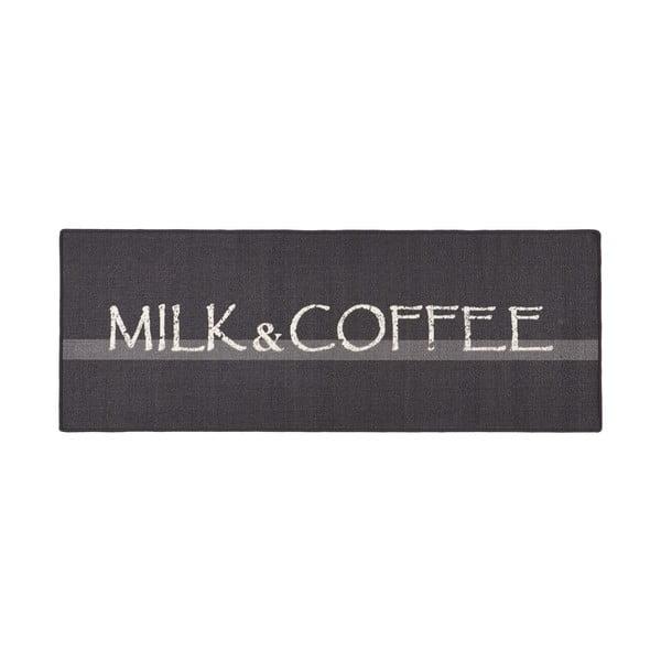 Szary dywan kuchenny HanseHomeMilk&Coffee, 67x180cm