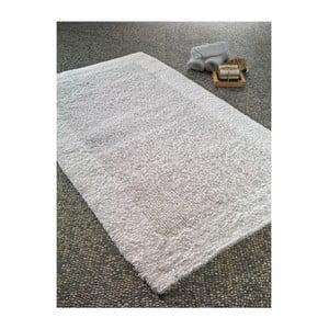 Biały dywanik łazienkowy Confetti Bathmats Natura Heavy, 70x120 cm