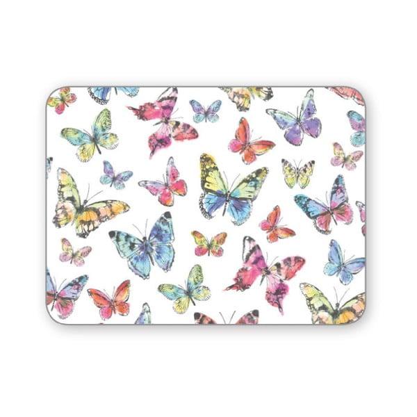 Zestaw 4 mat stołowych Cooksmart Butterfly