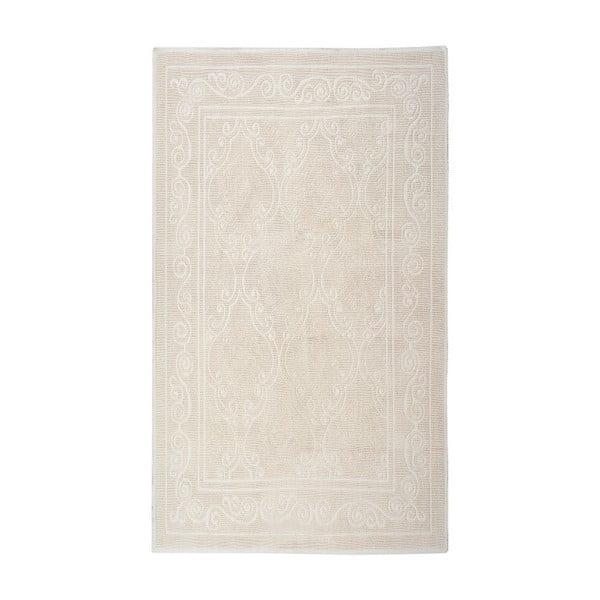 Kremowy dywan bawełniany Floorist Omanli, 80x300cm