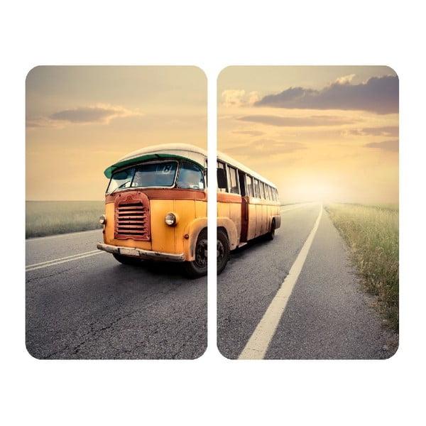 Szklana płyta ochronna Bus, 2 sztuki