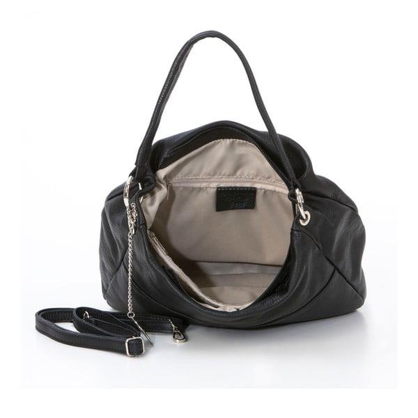 Skórzana torebka Alessandro, czarna