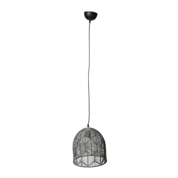 Lampa sufitowa Toile Grey, 30x35 cm