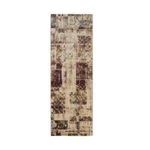 Dywan Galata 38002A 38 Beige/Purple, 80x230 cm