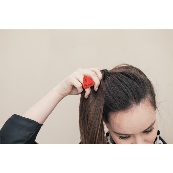 Pierścionek Baguera Vectory Trilliant Cherry, 1.6 cm