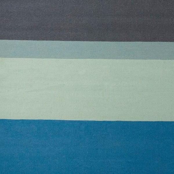 Wełniany   dywan Lux Blue, 80x150 cm
