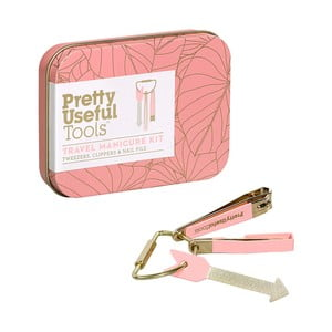 Podróżny zestaw do manicure Pretty Useful Tools Sunset Pink