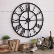 Zegar ścienny Orchidea Milano Industrial Rusty Black, 70 cm