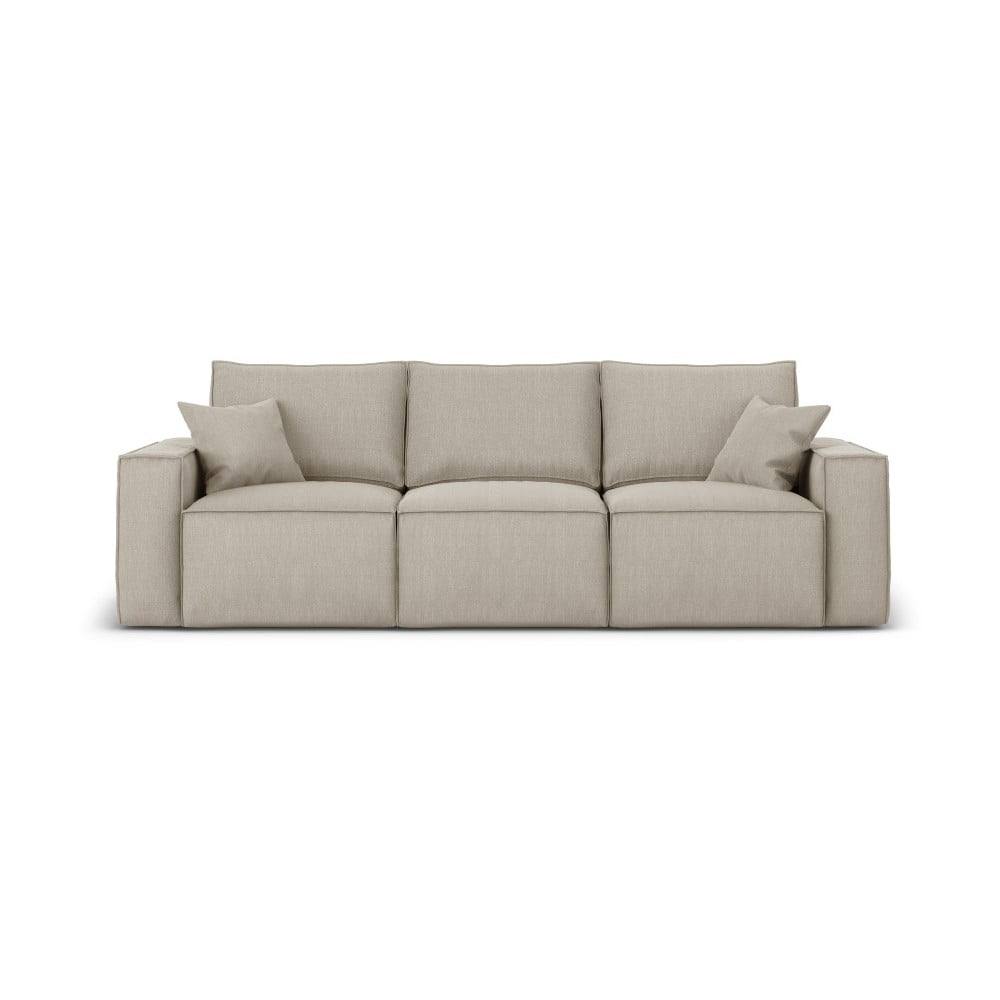 Beżowa sofa Cosmopolitan Design Miami, 245 cm