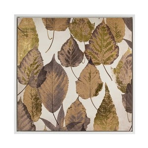 Obraz SantiagoPons Brown Leaves, 104x104 cm