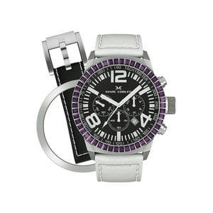 Zegarek damski Marc Coblen z dodatkowym paskiem i obręczą P17