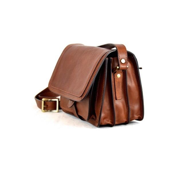 Skórzana torebka Santo Croce 132138 Brown
