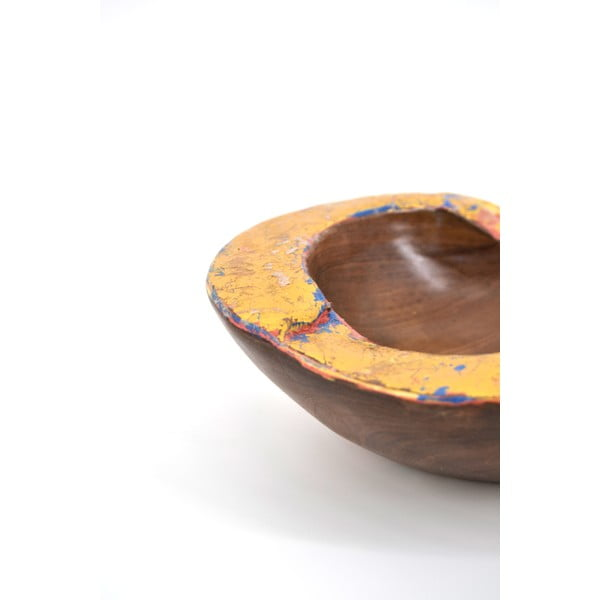 Misa z drewna tekowego Erosi, 20 cm